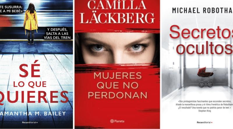Últimas lecturas | Samantha M. Bailey, Camilla Läckberg y Michael Robotham
