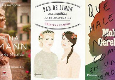 Últimas lecturas | Corina Bomann, Cristina Campos y Moha Gerehou